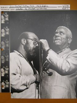 James Moody singing