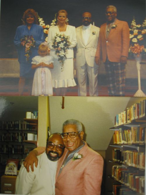 James Moody wedding