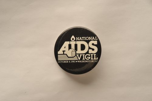 AIDS Vigil Button