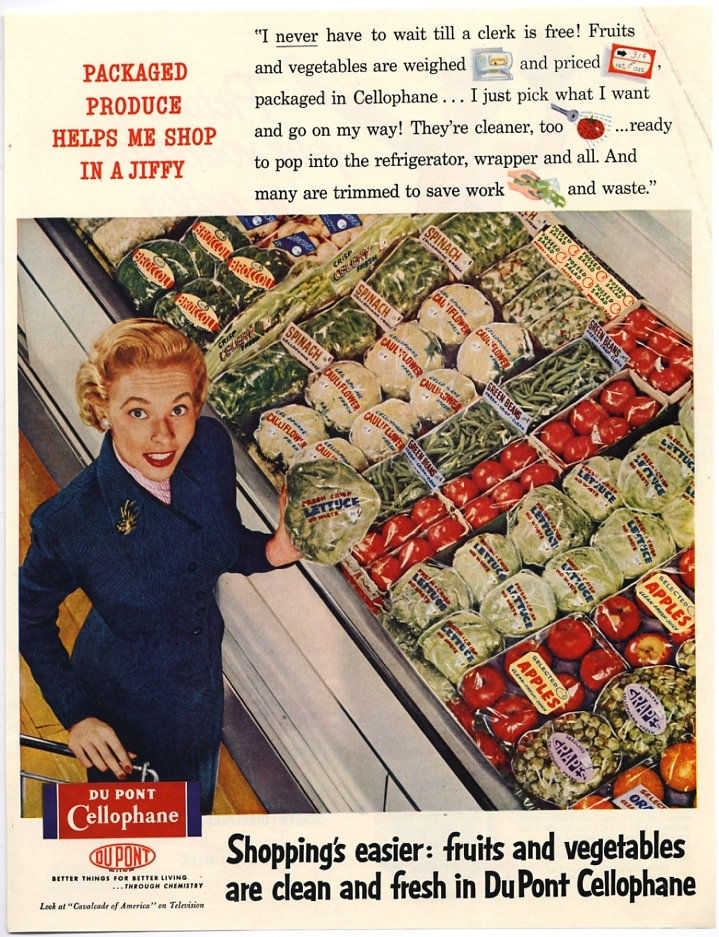 Food culture, supermarkets, and packaging: A researcher's