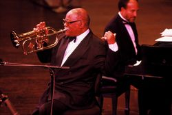 Clark Terry Pointing