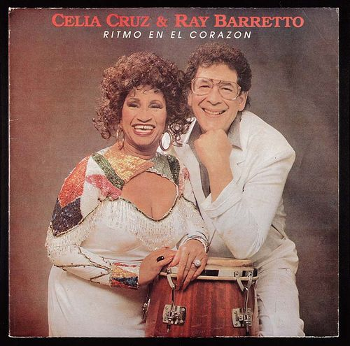 Ritmo en el Corazón</em> album cover, with Ray Barreto, 1988