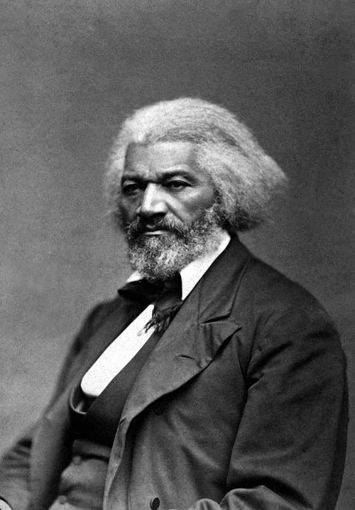 Frederick Douglass, ca. 1879. Courtesy of National Archives.