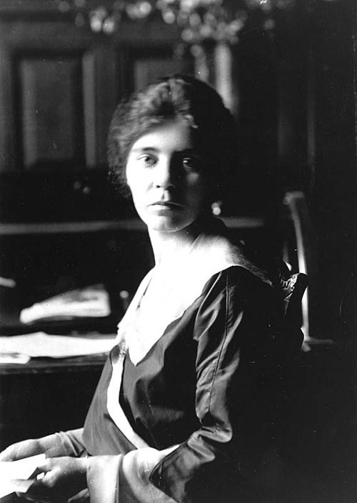 Alice Paul, around 1913