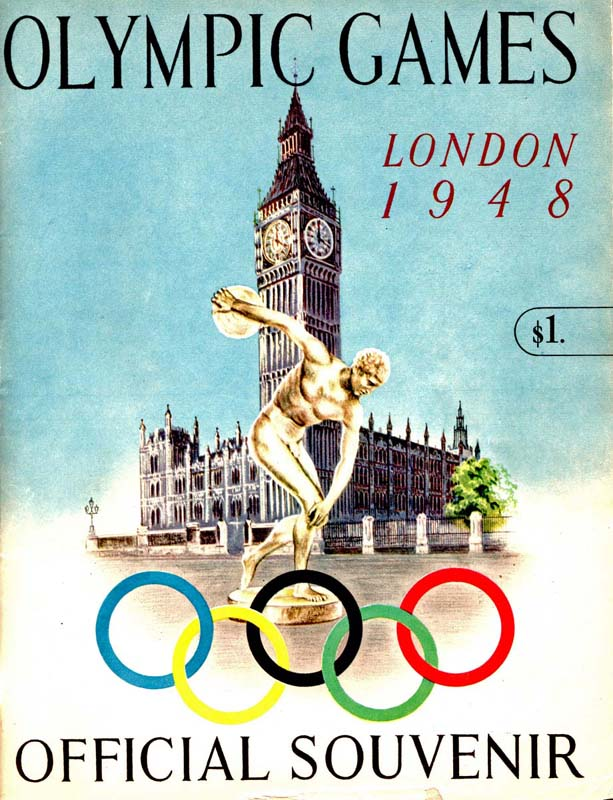 wrapping up the london olympics in 1948 national museum of