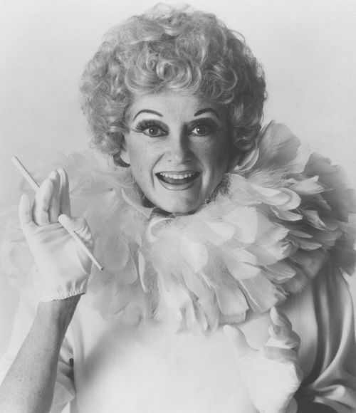 "Comedian Phyllis Diller in the 1960s, ""I became a stand-up comedienne because I had a sit-down husband."""