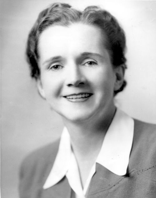 Author and aquatic biologist Rachel Carson in 1944