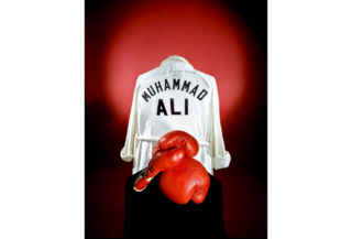In 1976 the Smithsonian acquired Ali's boxing gloves and robe.