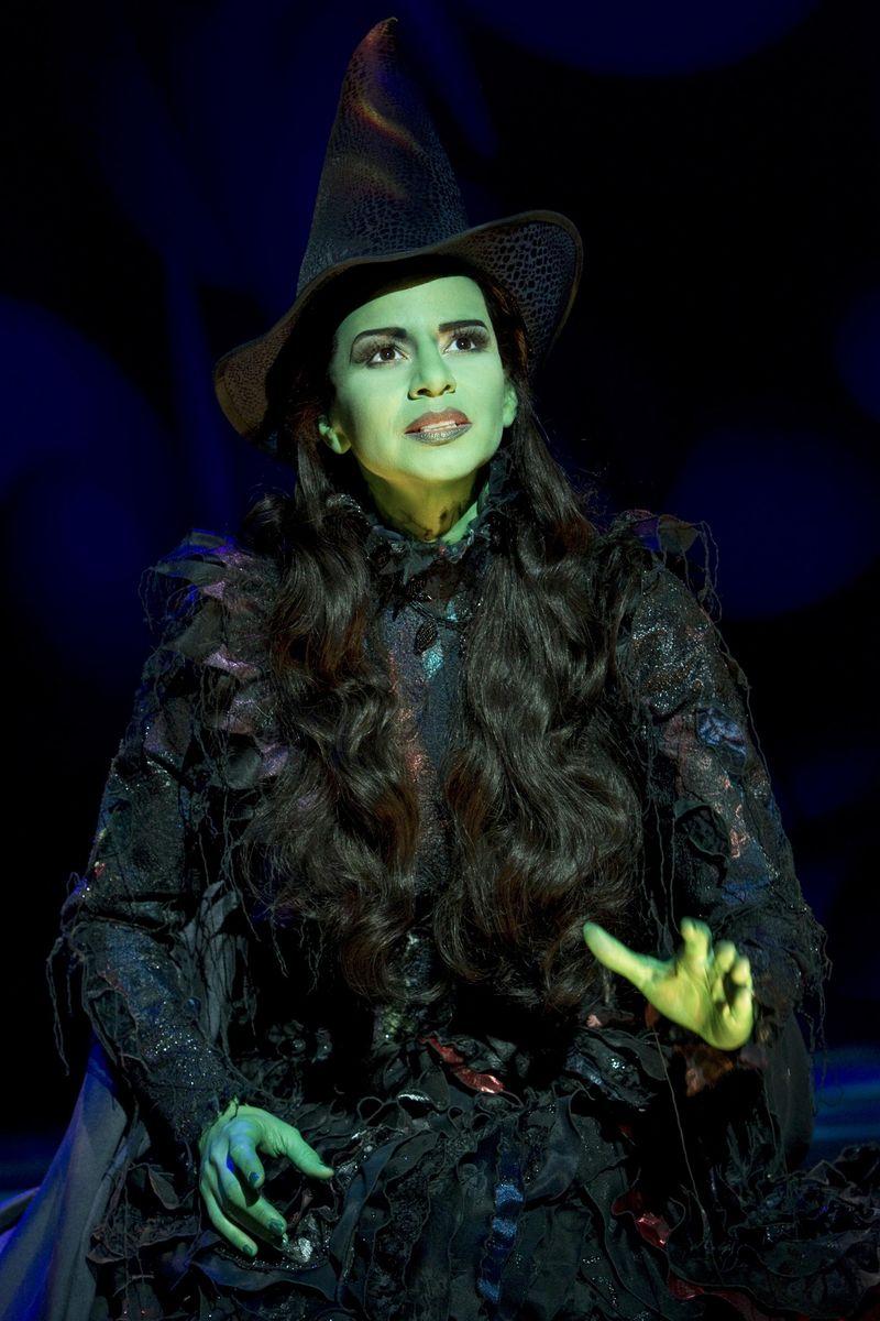 Mandy Gonzalez as Elphaba in