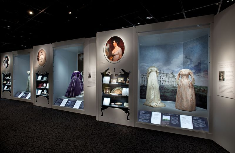 The First Ladies exhibition at the museum