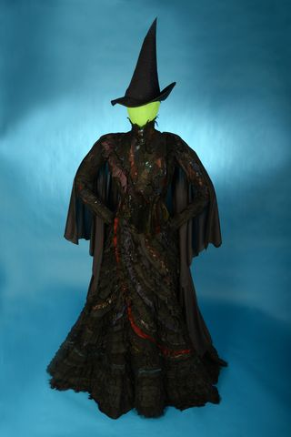 The iconic Elphaba dress and hat