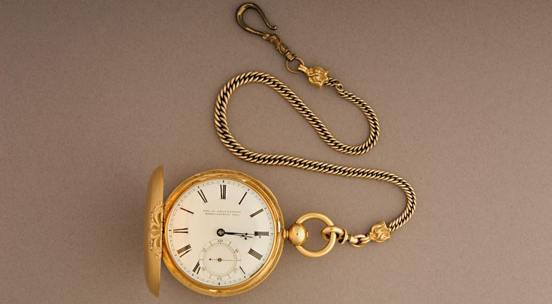 Lincoln's English gold watch was purchased in the 1850s from George Chatterton, a Springfield, Illinois, jeweler. Discover how it got its secret messages.