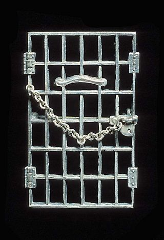 "Alice Paul's ""Jailed for Freedom"" pin"