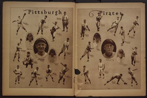 The 1925 World Champion Pittsburgh Pirates