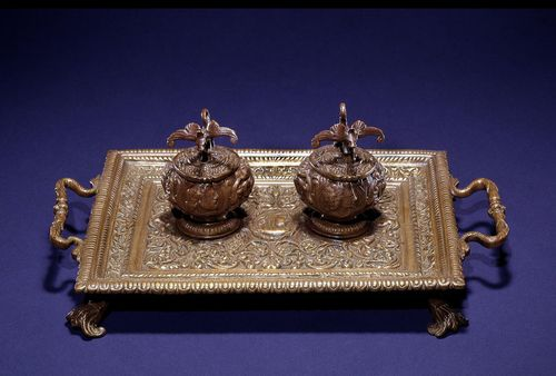 Inkwell used by Lincoln to write the first draft of the Emancipation Proclamation