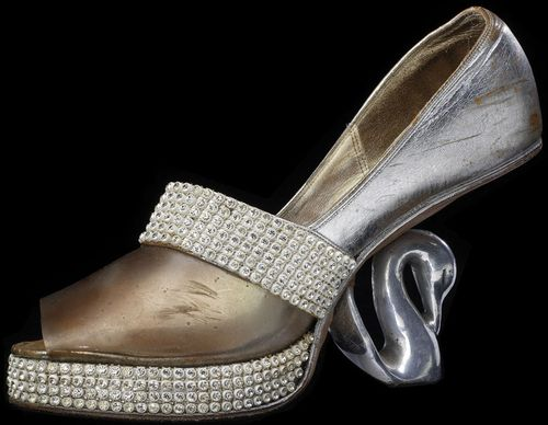 "Shoes worn by Celia Cruz, ""The Queen of Salsa,"""