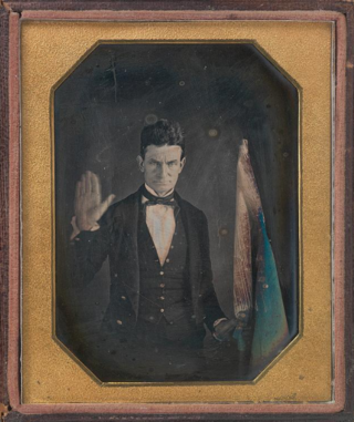 The earliest known likeness of radical abolitionist John Brown, this portrait was made by pioneering African American daguerreotypist and fellow abolitionist Augustus Washington.