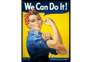 """We Can Do It!"" poster in the museum's collection"