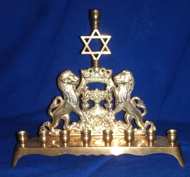 My family's menorah