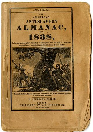 Antislavery Pamphlet, 1848, Division of Political History, National Museum of American History