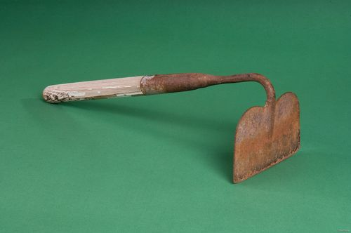 El Cortito, short-handled hoe, 1960s