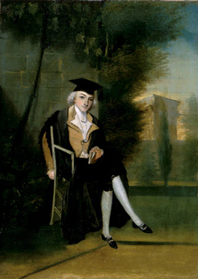 James Smithson as an Oxford Student, 1786, by James Roberts, Oil on canvas, National Portrait Gallery, Smithsonian Institution, Ref. NPG.96.28.