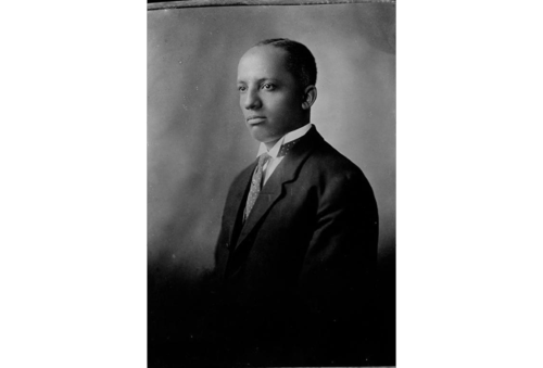 Portrait of Dr. Carter Woodson by the Scurlock Studio in Washington, D.C. Scurlock Studio Records, ca. 1905-1994, Archives Center, National Museum of American History