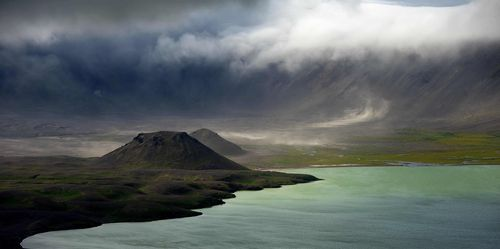 Aniakchak Caldera on the Alaska Peninsula. Credit: Roy Wood.