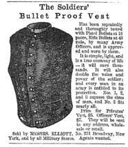 "The Soldiers' Bullet Proof Vest, ""Harper's Weekly,"" March 15, 1862, p. 176"