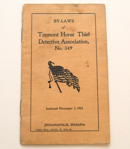 Badge for the Tremont Horse Thief Detective Association