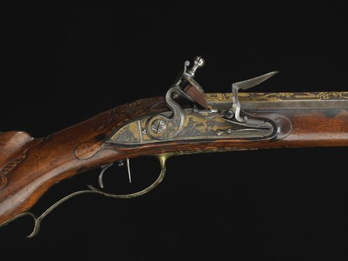 Russian Jaeger Flintlock Rifle made by Permjakov for Catherine the Great of Russia
