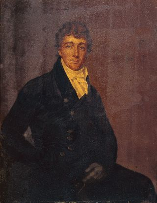 Portrait of Francis Scott Key, attributed to Joseph Wood, about 1825. Walters Art Gallery.