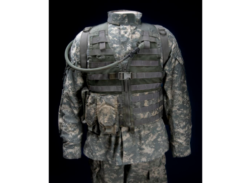 Army Combat Uniform (ACU) worn by SGT Joseph Guenther while serving with the 82nd Airborne in Afghanistan as a forward observer in 2007-2008 and 2009-2010.