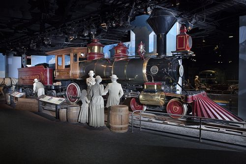 "The museum's ""America on the Move"" exhibition"