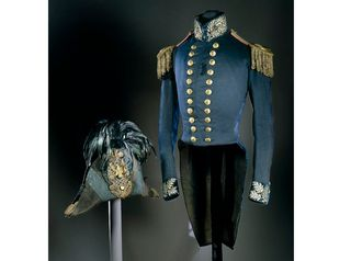 An 1830s uniform