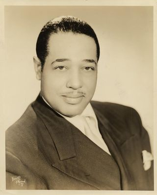 Photo: Duke Ellington, undated, Duke Ellington Collection, Archives Center, National Museum of American History, Smithsonian Institution.
