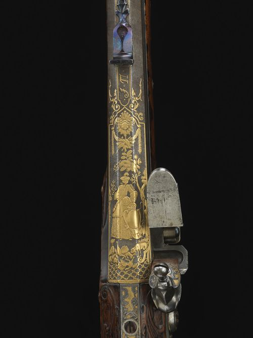 Another view of Catherine the Great's rifle