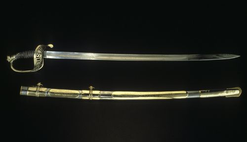 Sword carried by US Army Colonel Strong Vincent at the Battle of Gettysburg