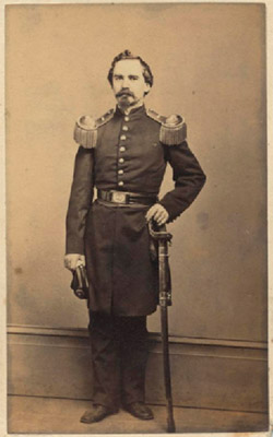 Charles G. Steinway, Fifth Regiment, New York State Militia, early 1860s Photograph by Charles Fredricks and Co., New York City Courtesy of Henry Z. Steinway Archive