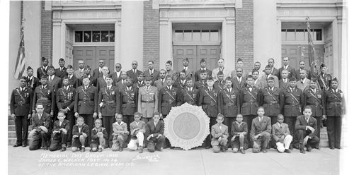 Memorial Day Group 1938 James E. Walker Post No. 26 of the American Legion, Wash. D.C.
