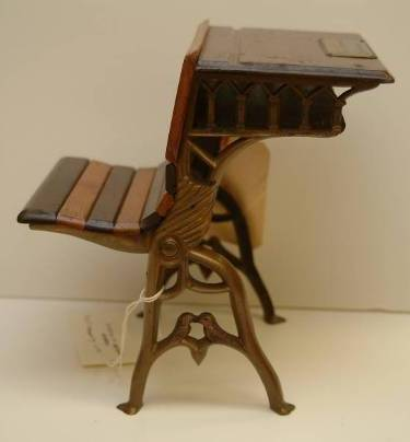 S1873 Cox and Fanning school desk model