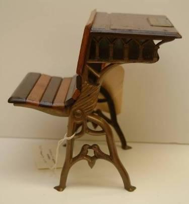 S1873 Cox And Fanning School Desk Model