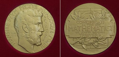 Archimedes on the Fields Medal, via Wikimedia Commons
