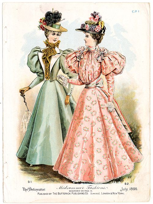 From the Warshaw Collection of Business Americana – Ladies Clothing, Archives Center, National Museum of American History, Smithsonian