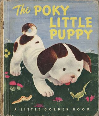 """The Poky Little Puppy"" is one of the most memorable Little Golden Books titles."