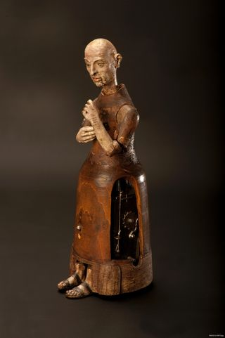 This friar was probably made in Spain or southern Germany and is about 450 years old. It has been in the museum's collections since the late 1970s.