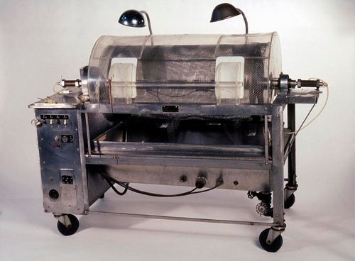 The second generation of Kolff's artificial kidney, made after Kolff came to the United States, was constructed at Boston's Peter Bent Brigham Hospital and known as the Kollf-Brigham artificial kidney.