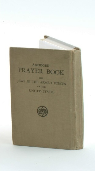 This abridged prayer book for Jews in the U.S. Armed Forces belonged to Sergeant Jules Herstein, who fought during World War II. He served for five years from his induction in June 1940 until his discharge on December 5, 1945.