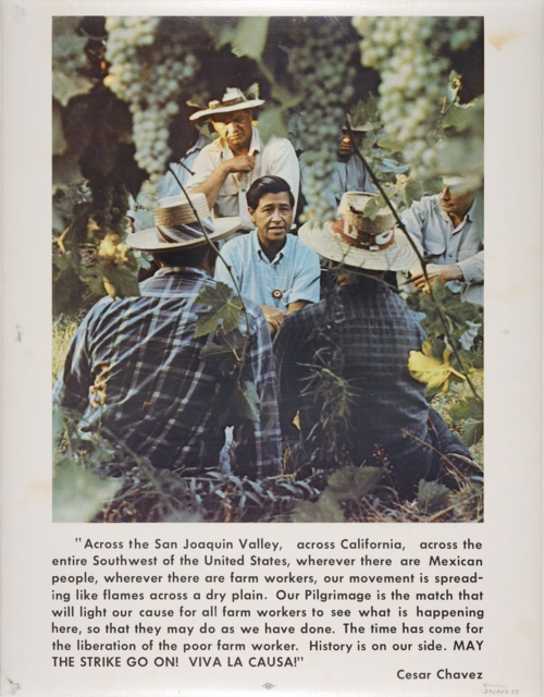 1970s United Farm Workers poster