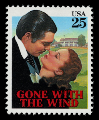 A stamp from 1990 commemorating the classic film. The stamp is in the collection of the National Postal Museum.
